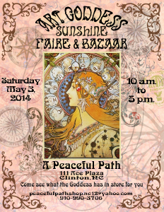 Art Goddess Sunshine Faire & Bazaar