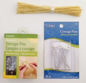 stick pis & corsage pins